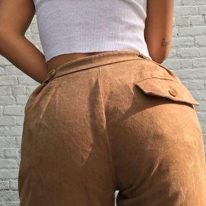 Rare Vintage RRL Black Label High Waist Trousers
